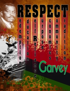 RESPECT GARVEY COURTYES OF GEOFFREY PHILP