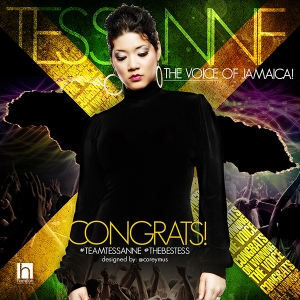 Jamaica's Tessanne Chin winner of the 2013 season of the Voice